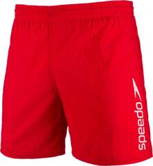 SPEEDO Herren Badeshorts SCOPE 16 WSHT AM RED/WHITE
