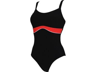 SPEEDO Damen Badeanzug SHAP SALACIA CLPBK AF Schwarz