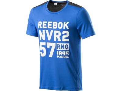 REEBOK Herren Shirt ACTRON BLEND TEE Blau