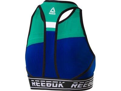 REEBOK Damen Sport-BH WOR Meet You There Blau