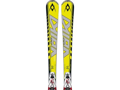 VÖLKL Herren Racing Ski RACETIGER SW SL DEMO RMOTION 13/14 Gelb