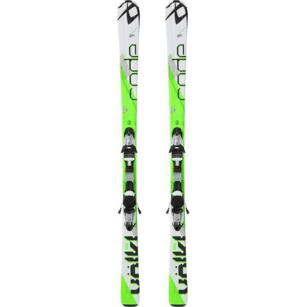 VÖLKL Herren Racing Ski CODE 74 W/FT-PLATE+10.0 FASTRAK III