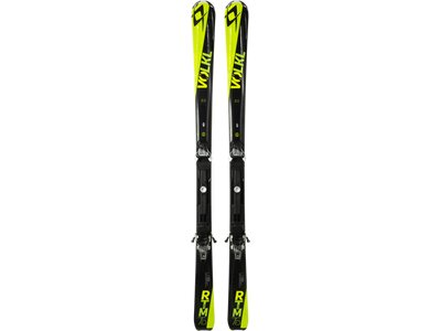 VÖLKL Damen All-Mountain Ski RTM 75 IS BLK/YELLOW+4MOTION 10.0 Schwarz