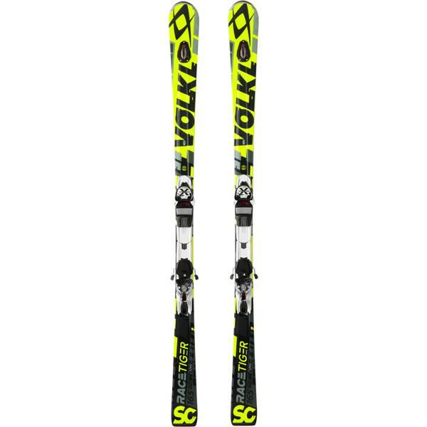 VÖLKL Herren Racing Ski RACETIGER SC UVO YELLOW+XMOT 11.0 D