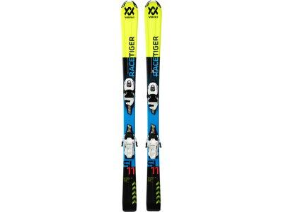 VÖLKL Kinder Racing Ski Racetiger Jr. + vMotion 4.5 Gelb