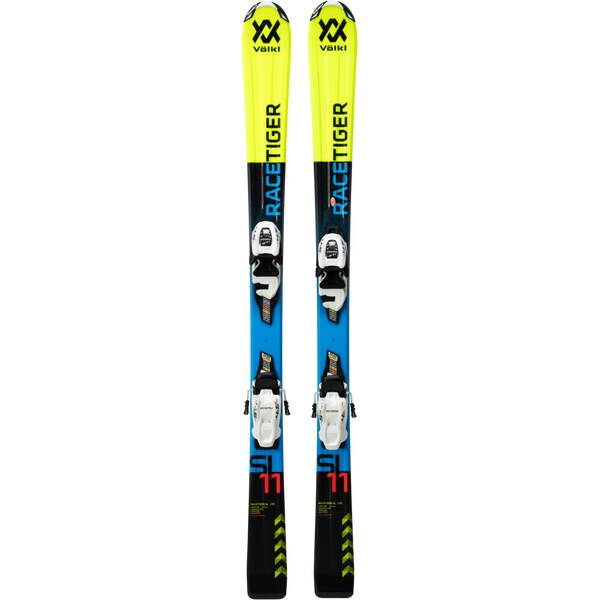 VÖLKL Kinder Racing Ski RACETIGER JR YELLOW+VMOTION 7.0JR R
