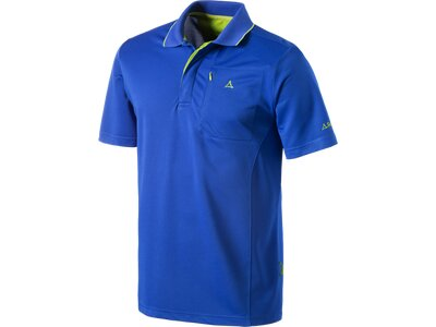 SCHÖFFEL Herren Polo Hiking Poloshirt Blau