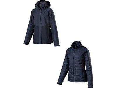 SCHÖFFEL Damen Doppeljacke 3in1 Jacket Luanda2 Blau