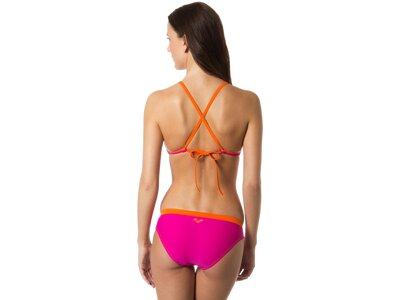 ARENA Damen Bikini Sporty Triangle STD Pink