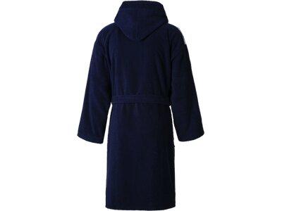 ARENA Unisex Bademantel Soft Robe Core Blau