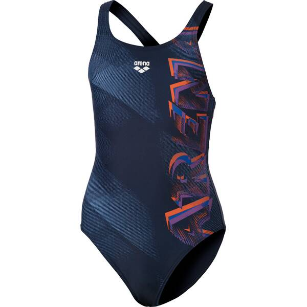 ARENA Mädchen Sport Badeanzug Draft