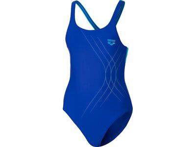 ARENA Mädchen Sport Badeanzug Soul Blau