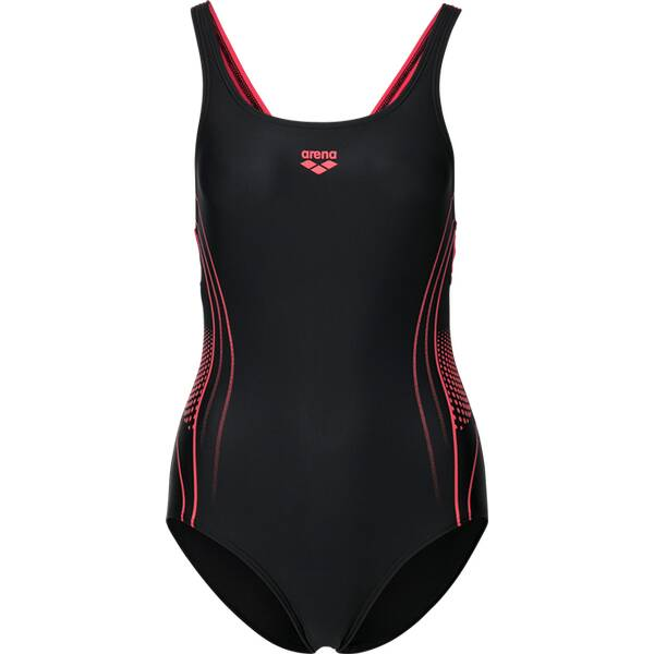 Bademode - ARENA Damen Schwimmanzug FAIRNESS › Schwarz  - Onlineshop Intersport