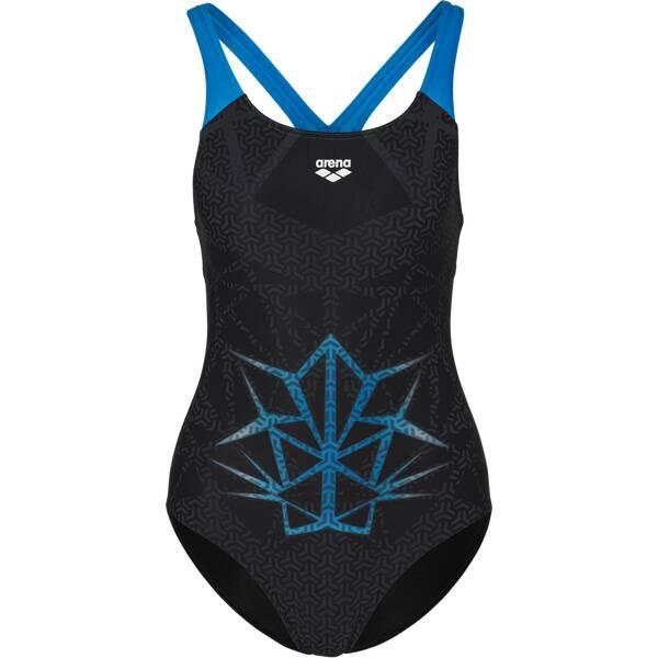 Bademode - ARENA Damen Schwimmanzug PRO BACK ONE PIECE › Schwarz  - Onlineshop Intersport