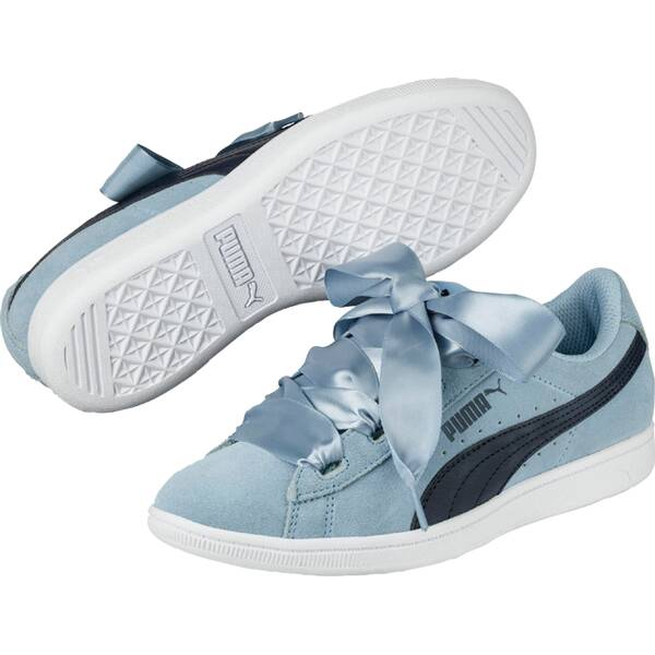 PUMA Kinder Sneaker Vikky Ribbon Jr