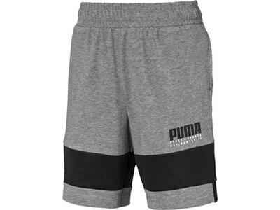 PUMA Kinder Shorts Alpha Jersey Grau