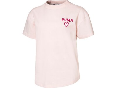 PUMA Kinder Shirt Alpha Trend Weiß