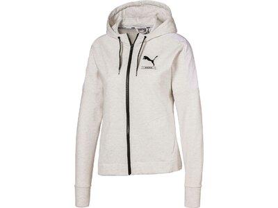 PUMA Damen Sweatshirt Nu-tility Weiß