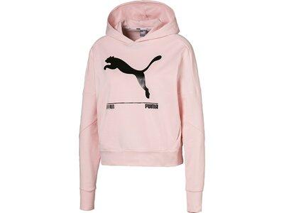 PUMA Damen Kapuzensweat Nu-Tility Pink