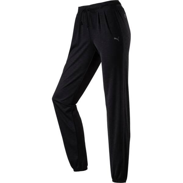 PUMA Damen Sporthose WT Loose Cuff Pants Schwarz