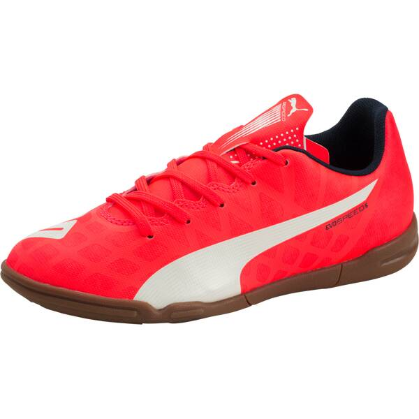 PUMA Kinder Fussball-Hallenschuhe EVOSPEED 5.4 IT JR