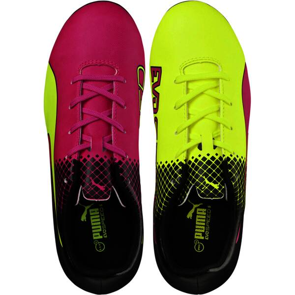 PUMA Kinder Fussball-Rasenschuhe evoSpeed 5.5 Tricks FG