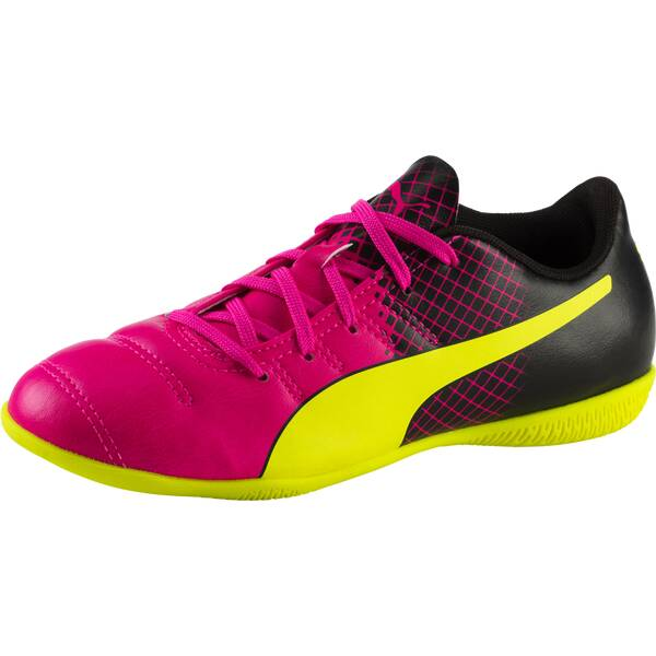 PUMA Kinder Fussball-Hallenschuhe evoPower 4.3 Tricks It
