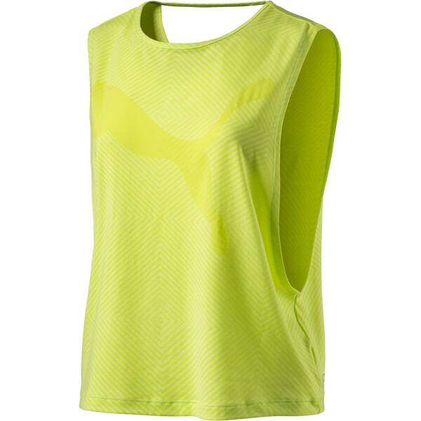 PUMA Damen Shirt Dancer Drapey Grün