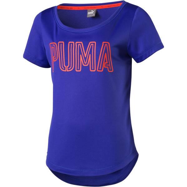 PUMA Kinder Shirt Active Dry Training Layer Blau