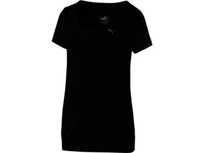 PUMA Damen Shirt Loose Schwarz