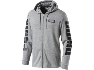 Puma Kinder Sweatshirt Rebel FZ Hoody Grau