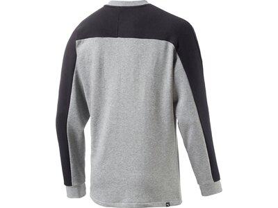 Puma Herren Sweatshirt Rebel Block Crew TR Grau