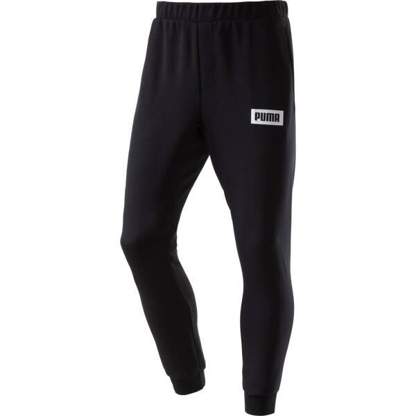 Puma Herren Jogginghose Rebel Sweat Pants TR Schwarz