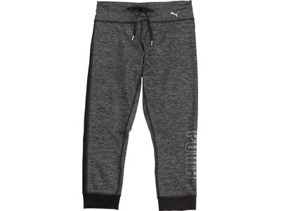 PUMA Damen Trainingstights Explosive Heather 3/4-Länge Grau
