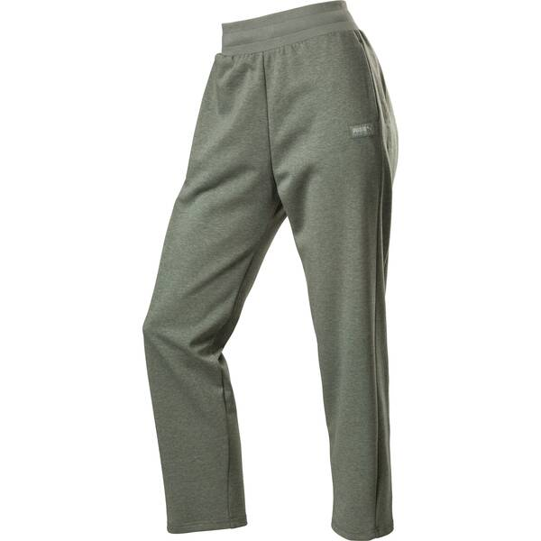 Hosen - PUMA Damen Sporthose FUSION › Grün  - Onlineshop Intersport