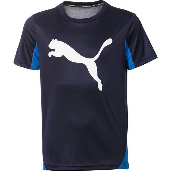 PUMA Kinder Shirt Active Sports Cat Graphic