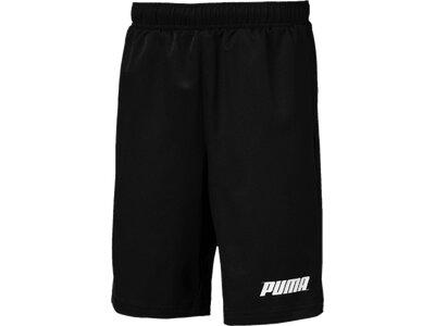 PUMA Kinder Shorts Rebel Woven Shorts B Schwarz