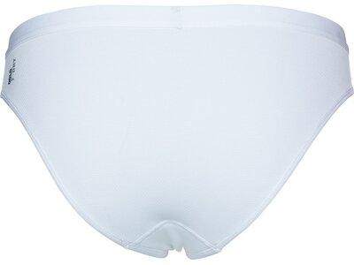 ODLO Damen Funktionsunterhose SUW Bottom Brief Active F-Dry Light Weiß