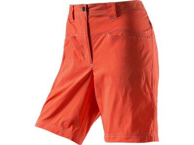 ODLO Damen Shorts Shorts QUARTZ Orange