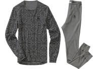 Vorschau: ODLO Damen Wäsche-Set Warm Camouflage