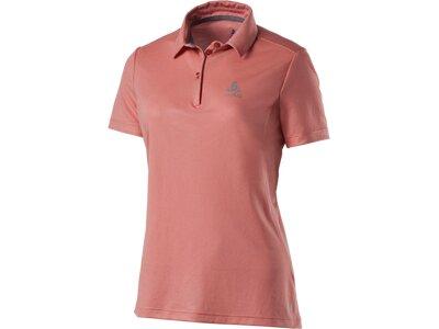 ODLO Damen Poloshirt Cardada Rot