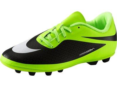 NIKE Kinder Fussball-Rasenschuhe Fußb-Sch.Hypervenom Phade FG-R JR Grün