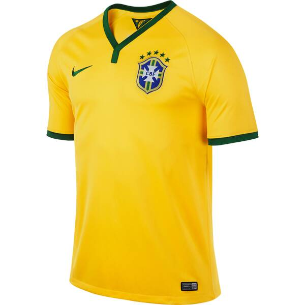 NIKE Herren Fanshirt CBF SS HOME STADIUM JSY | Sportbekleidung > Sportshirts > Fanshirts | Nike