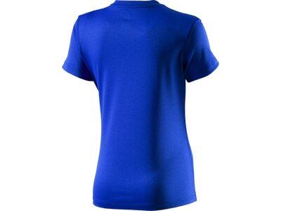 NIKE Kinder Shirt LEG VNECK SWOOSH FILL 1 TEE YT Blau
