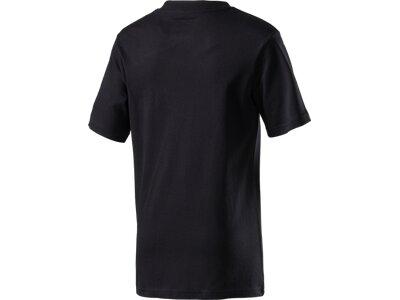 NIKE Kinder Shirt CAT HBR HD TEE YTH Schwarz