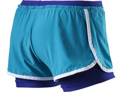 NIKE Damen Shorts NIKE FULL FLEX 2 IN 1 SHORT Blau
