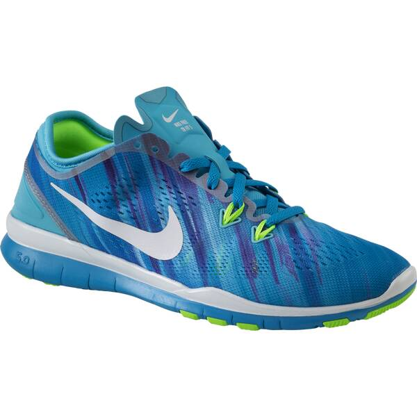 NIKE Damen Trainingsschuhe Free 5.0 Trainer Fit 5 Print