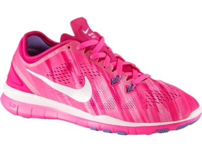 NIKE Damen Trainingsschuhe Free 5.0 Trainer Fit 5 Print Pink