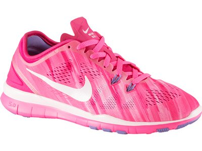 NIKE Damen Trainingsschuhe Free 5.0 Trainer Fit 5 Print Pink
