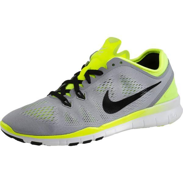 sports shoes 7afeb 81cf8 NIKE Damen Workoutschuhe Nike Free 5.0 TR Fit 5 GrauSchwarzOrange